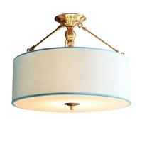 Медь подвесной светильник простой стиль сада спальня фойе гостиной реального латунь Европейский припоя подвесной светильник Медь подвесн