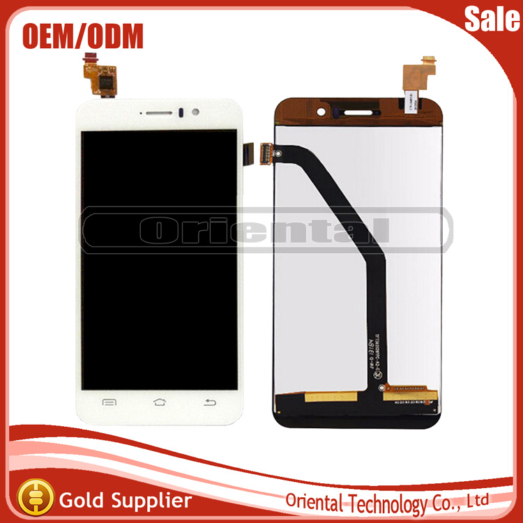 5 PCS Black/ White In Stock For JIAYU G4 G4S G4T G4C LCD Display +Touch Screen sensor digitizer Free Shipping