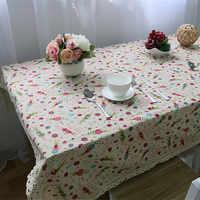 Darmowa wysyłka królik obrus domu/Restrantl/Hotel koreański stół pokrywa kominek De Mesa wielofunkcyjny Cartoon pokryte tkaniny