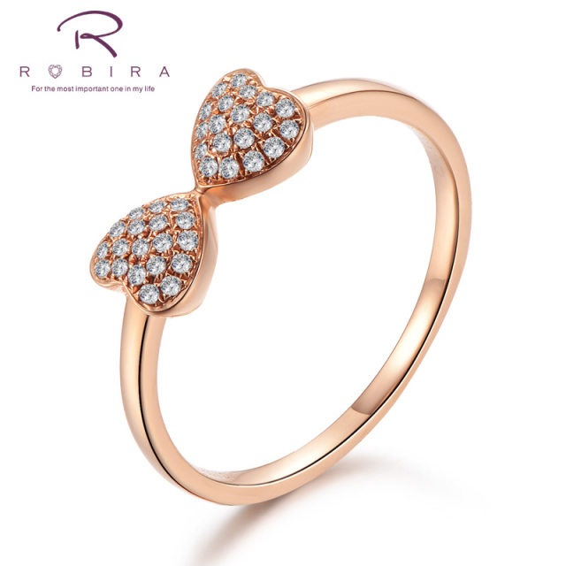 Robira 2017 Summer Collection Anniversary Gift Rings 18K AU750