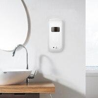 1000ml Automatic Liquid Soap Dispenser Big Smart Sensor Touchless Sanitizer Dispensador Kitchen Bathroom Soap Dispenser Holder