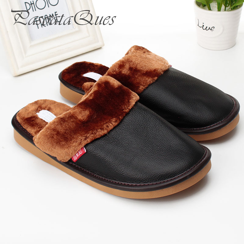 Real Leather Autumn Wintermen Women Shoes Faux Fur Home Spring Breathable House Indoor Slippers Pasoataques Brand Asspfle111 new spring cute women slippers breathable comfortable soft house indoor home women shoes pasoataques brand