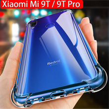 Anti-shock Case For Xiaomi Mi 9T 9 T Slilcone TPU Pro Transparent Clear Protective Cover