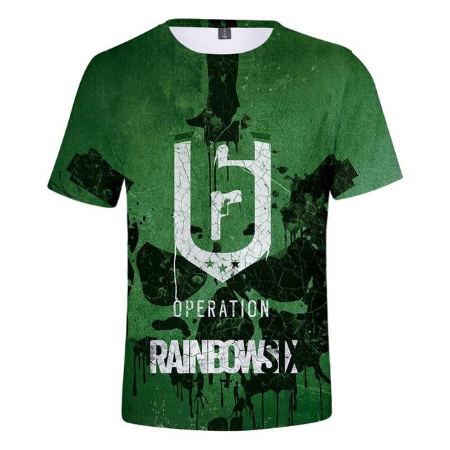 Rainbow Six Siege 3D Print T shirt
