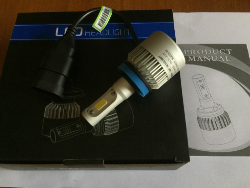 H4 H7 H11 H8 9005 9006 H1 H3 H16 5202 880 9012 S2 Car Led Headlight C6 S1 X3 Auto Bulbs 72W 8000LM All In One Automobiles Lamp