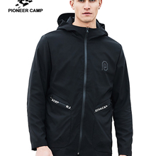 Jacket Male Clothing Overcoat Windbreak Spring Fashion Pioneer Camp AJK707004 Top-Quality