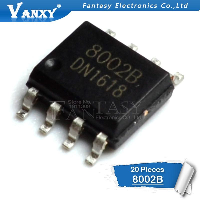 20PCS CKE8002B SOP-8 8002B SOP