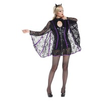 VASHEJIANG Zwierząt Kigurumi Deguisement Halloween Kobiety Vampire Batman Kostium Kostium Karnawał Kostium Fancy Dress Party