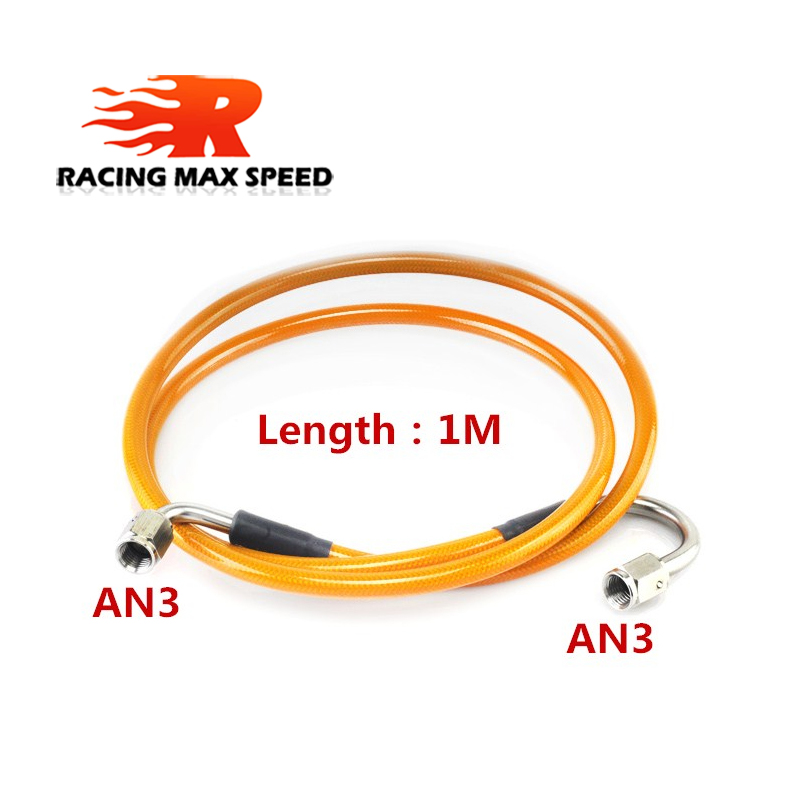 Image 2 - Master To Slave Cylinder Complete Stainless Clutch line With An3 Fitting For 06 15 Honda Civic Si-in Brake Lines from Automobiles & Motorcycles