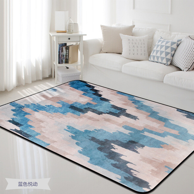 Blue series Area Carpet bedroom decor rug Bedside coffee table sofa Floor Mat/carpets for living room large Size Rugs 190*280cm