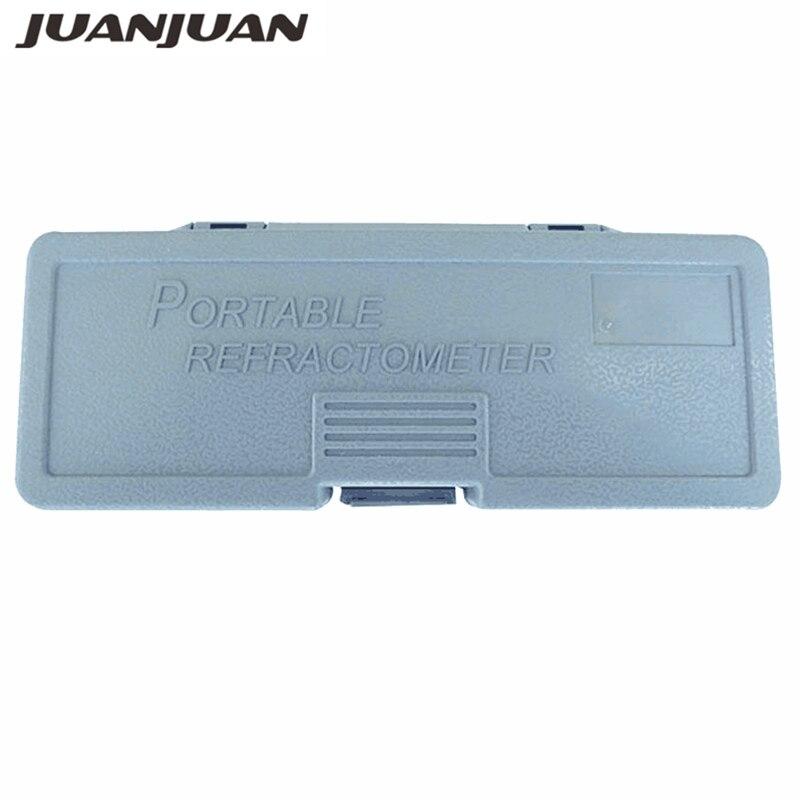 Original Retail Refractometer Box For Brix Alcohol Refractometer Box Hangheld Refractometer Case Gift Box 20% Off
