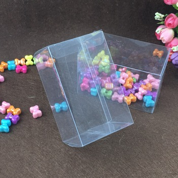 50pcs 8*8*12cm clear plastic pvc box packing boxes for gifts/chocolate/candy/cosmetic/cake/crafts square transparent pvc Box