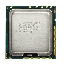 Processador intel, xeon x5680 3.33ghz lga1366 12mb l3 cache six core cpu de servidor