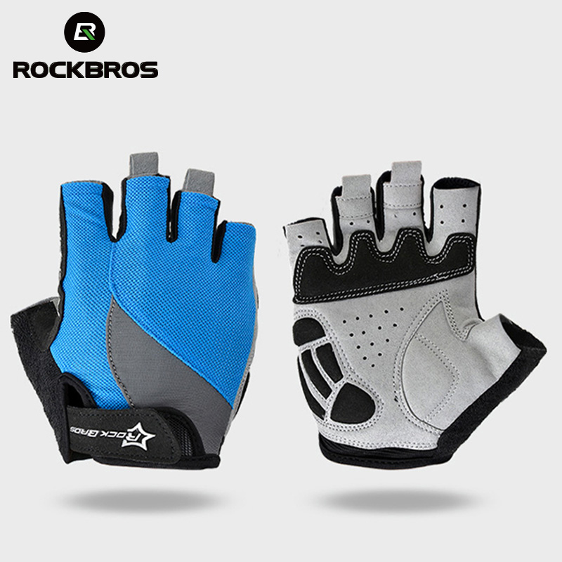 For Men Women Half Finger Gel Padded Cycling Gloves Hiking Road MTB Bike Riding
