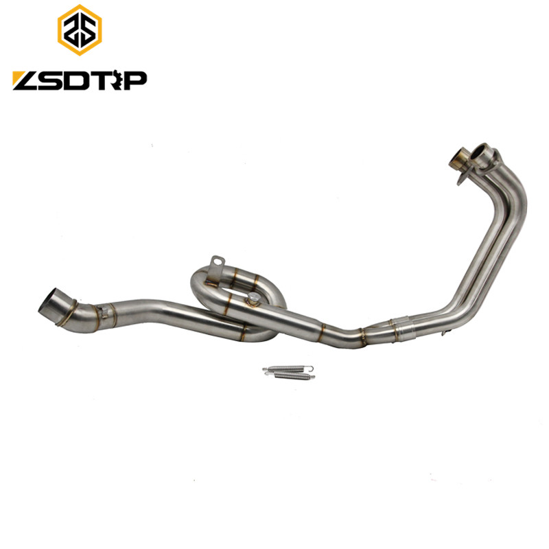 ZSDTRP Motorcycle Modifiy exhaust pipe case for Yamaha YZF-R3 model Stainless steel material