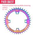 40g/32T 104BCD покрытое титаном кольцо цепи CNC узкое широкое колесо цепи 32 T-48 T Цветные горный велосипед колеса
