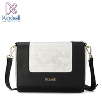 Kadell Newest Small PU Leather Flap Bag Crossbody Bags Women Designer Brand Handbags High Quality Ladies
