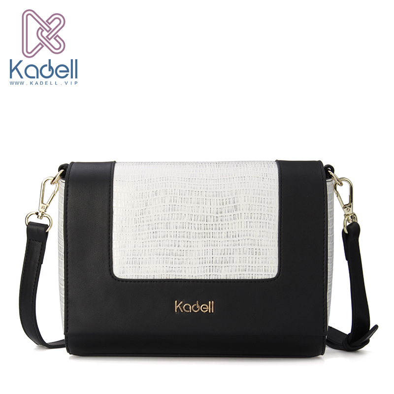 Kadell Newest Small PU Leather Flap Bag Crossbody Bags Women Designer Brand Handbags High Quality Ladies Shoulder Messenger Bag