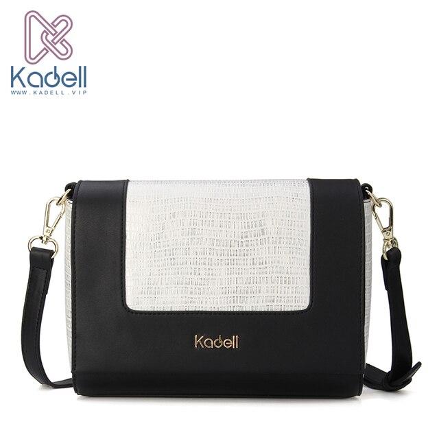 Kadell Newest Small PU Leather Flap Bag Crossbody Bags Women Designer Brand Handbags High Quality Ladies Shoulder Messenger Bag