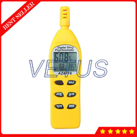 Portable Digital Humidity Thermo Hygrometer AZ 8716 with Dew Point Wet Bulb Temperature Meter