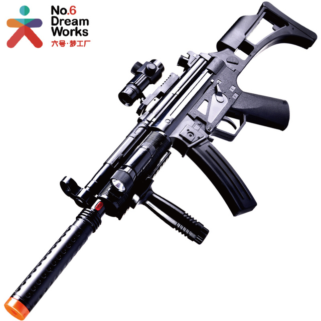 orbeez nerf gun weapons arma air Electric peases acoustooptical sniper  rifle m4 rifle toy pistol boys
