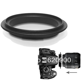 100% Guarantee  50x 58MM Filter Thread Lens / Macro Reverse Ring Camera Mount Adapter for Nikon SLR
