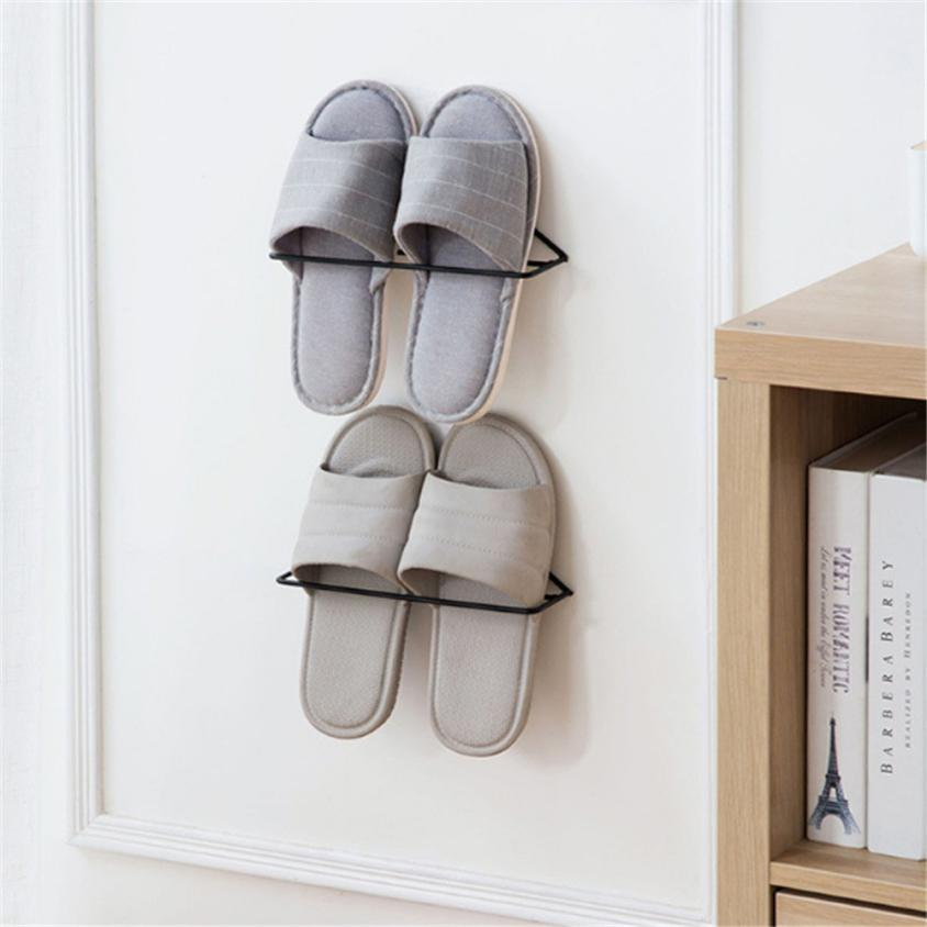 Storage Holder Shoes Shelves Rack Organizer For Clothes Shoe Hanging Holders 18Apr24