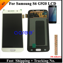 Grade AAA SUPER AMOLED For Samsung S6 LCD Display S6 G920F For Samsung S6 G920 Display LCD Screen Touch Digitizer Assembly