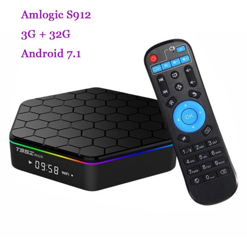 RUIJT95Z PLUS Android 7 1 TV Box Amlogic S912 Octa Core 3G 32G Smart Tv 2