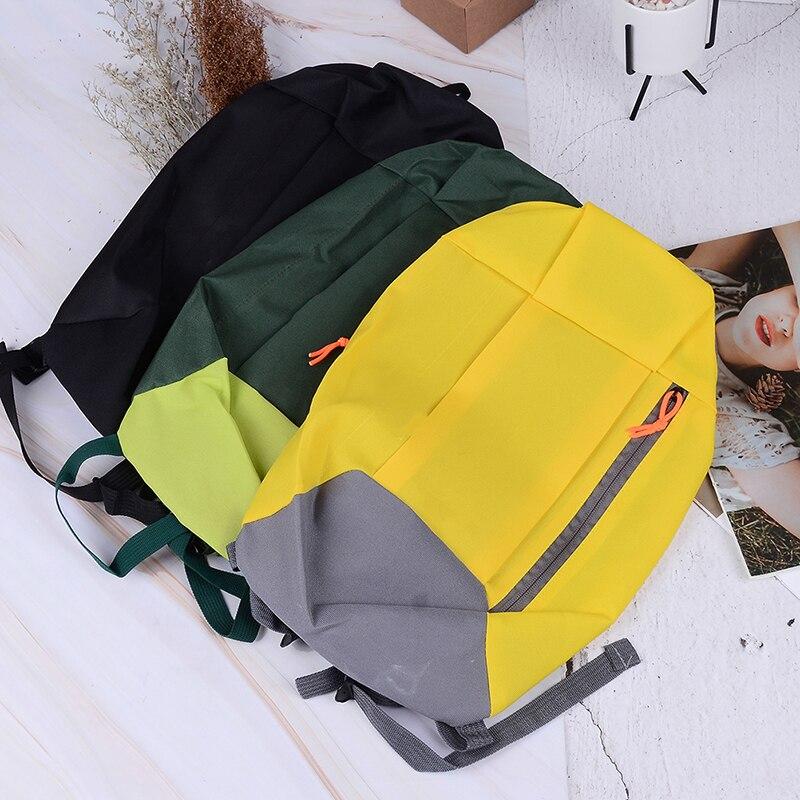 9 Colors Unisex Sports Backpack Satchel Withe Soft Handle Lightweight Nylon Backpacks For Travel Hiking Rucksack