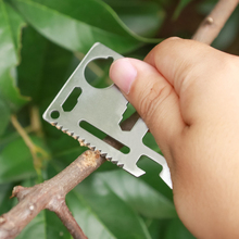 Outdoor Camping Tool Card Swiss Army Knife Card Universal Life Card Multifunctional Card Knife