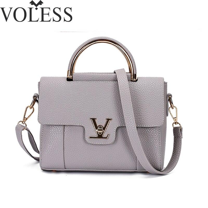2018 V Buchstaben Saffiano handtaschen Frauen Leder Pendler Büro Ring einkaufstasche frauen Tasche Taschen Berühmte Ladys V Klappe tasche