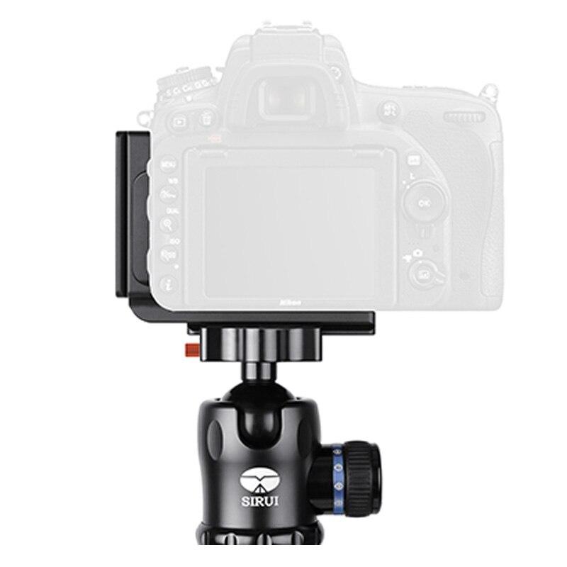 Sirui accessoires appareil photo plaque de fixation rapide professionnel pour D750 QR plaque aluminium pince de fixation rapide TY-D750L universelle
