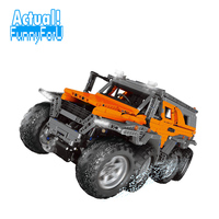Лепин 23011B Avtoros шаман 8x8 ATV техника модель строительные блоки кирпичи игрушки Просветите DIY для детей Совместимость с legoINGly
