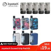 Оригинальная система Joyetech Exceed Grip Pod, встроенный аккумулятор 1000 мАч 0,4/0.8ohm, EX-M, сетка, катушка из цинкового сплава, PC VS eGo Aio E-Cig