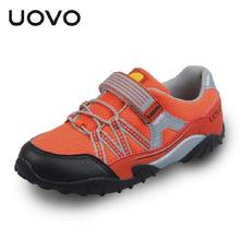 2016 quality UOVO shoes children sports shoes kids fashion sneakers boys running shoes girls comfortable outdoor shoe