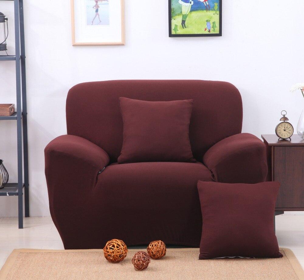 Aliexpress Com Buy Coffee Color Sofa Cover Sofa Slipcovers Cheap  ~ Sofa Furniture Protectors