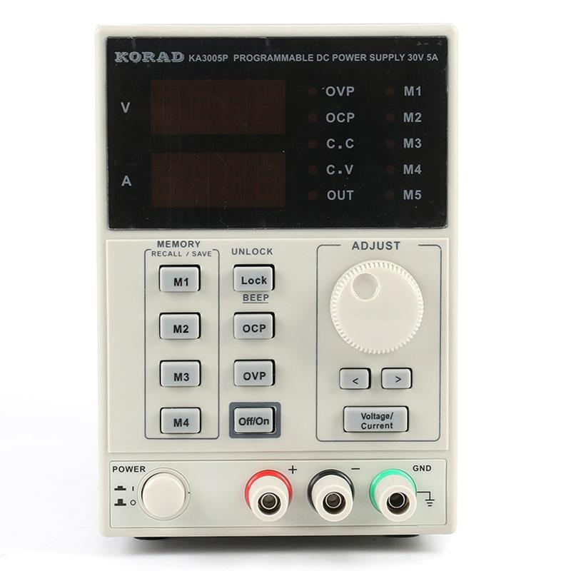 KA3005P Programmable DC Power Supply 30V 5A Adjustable Digital Laboratory Power Supply 10mV 1mA High Accuracy