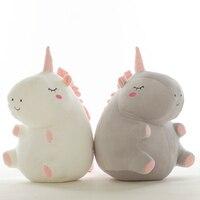 55 см милый единорог плюшевые игрушки куклы Мягкие и плюшевые животные ребенка s длу улучшения сна подарки для детей NTDIZ0200