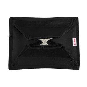 """Image 5 - Godox 15 cm x 20 cm (5.9 """"x 7.8"""") evrensel Katlanabilir Mini Flaş Difüzör Softbox Godox, Canon, Nikon Flaş"""
