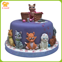 LXYY Mould Cartoon Animal Mold Cat And Dog