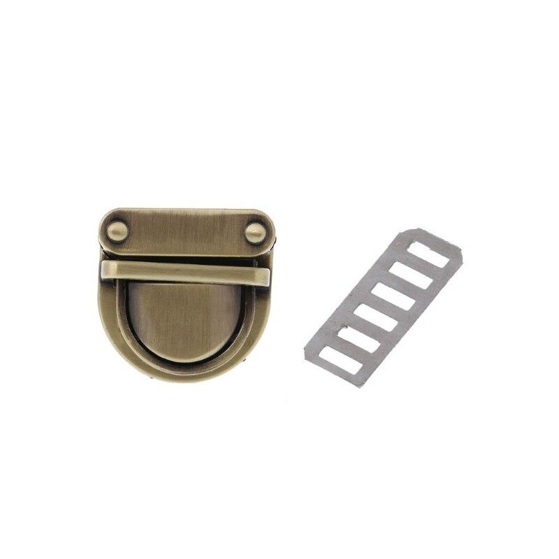 Metal Clasp Turn Lock Twist Lock For DIY Handbag Bag Purse Hardware Closure