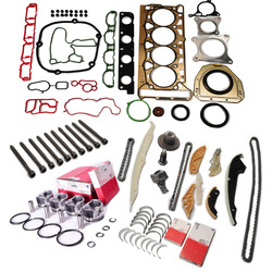 Engine Overhaul Rebuild Kit Pistons Rings Timing Chain Tensioner Crankshaft For VW GTI Tiguan AUDI A5 2.0 TFSI CAEB CCTA CCZ CDN