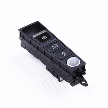 TUKE OEM Chrome LHD Multifunctional Switch Engine Automatic Switches Pushbutton ESP EBP Button For VW Passat B7 VW CC3AD927137B