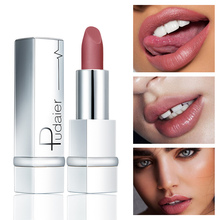 Pudaier Sexy Red Velvet Matte Lipstick Natural Color Rich Cosmetic Makeup for Wo