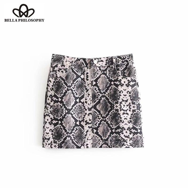 Bottoms Wonder 2018 New Vintage Snake Skin Print Side Stripe Pants Ankle Length Elastic Waist Pocket Trousers Female Sexy Leisure Pants Women's Clothing