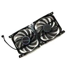 2 יח\סט 4Pin CF 12915 S GPU Cooler מאוורר VGA כרטיס מאוורר עבור InnoVISION INNO3D הגרפיקה כרטיסי קירור כמו החלפה