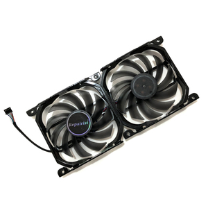 Image 1 - 2pcs/set 4Pin CF 12915S GPU Cooler Fan VGA Card Fan For InnoVISION INNO3D Graphics Video Cards Cooling as Replacement