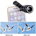 Universal Клипы 12X Зум Телефон Линзы Lentes Телефото Телескоп Объектива Камеры Для iphone 7 6 5 4 S Xiaomi Huawei Samsung S5 S6 S7