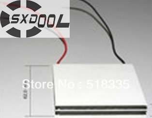 SXDOOL 10pcs TEC1-12705 Thermoelectric קירור Peltier 12705 12V - רכיבי מחשב